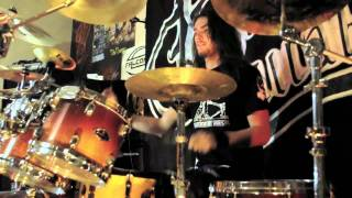 Death Lullaby - Within the void / Drums performance by Kevy Metall