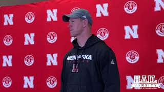Scott Frost on Iowa Prep, Nebraska's Run Game and More