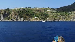 From Lipari to Vulcano,Isole Eolie②.エオリア諸島、リーパリ島からブルカノ島へ②