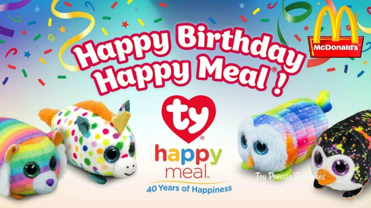2019 McDONALD'S TY TEENIE TEENY TYS HAPPY MEAL TOYS 40 YEARS BIRTHDAY TEEN  TITANS GO! LEGO MOVIE 2