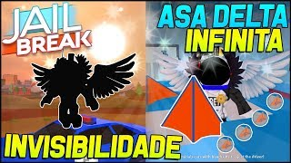 TWO NEW BUGS with the DELTA WING on the ROBLOX JAILBREAK!! 😱😂 (invisibility is HeliBug)