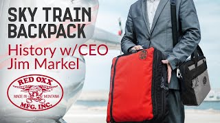 Red Oxx Sky Train: Introduction to a Carry On Hybrid Backpack Bag