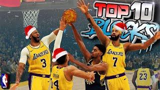 NBA 2K20 TOP 10 BLOCKS & Defensive PLAYS Of The Week #18 - Snatch Blocks & More