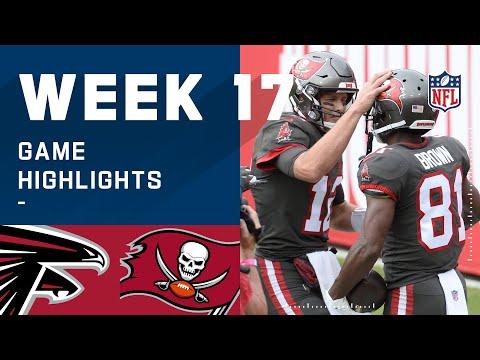 Falcons vs. Buccaneers Week 17 Highlights | NFL 2020