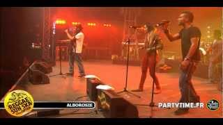 ALBOROSIE - Live HD at Reggae Sun Ska 2012 by Partytime.fr