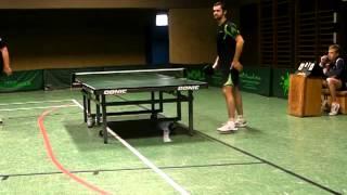 Zweite Einzelrunde oberes Paarkreuz - 8.9.2012 Olympia Laxten - TV Hude