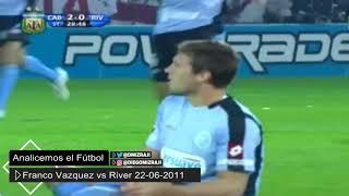 Belgrano   Franco Mudo Vazquez y el partido vs River   Promoción Ida   22 06 2011