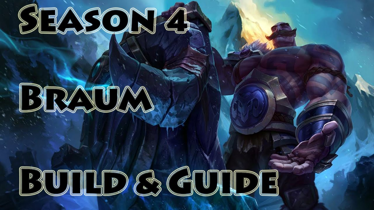 Braum Montage - Braum best plays - The Bodyguard | League ...