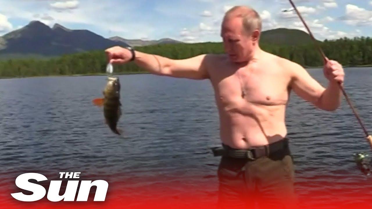Putin: 20 years of macho photo opportunities