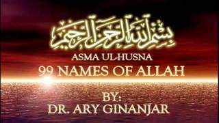 Asma Ul Husna_99 Names of Allah by Dr Ary Ginanjar (Astro Oasis)