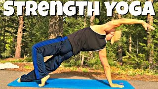 50 Min POWER YOGA WORKOUT w/ SEAN VIGUE - Strength and Flexibility Class #poweryoga