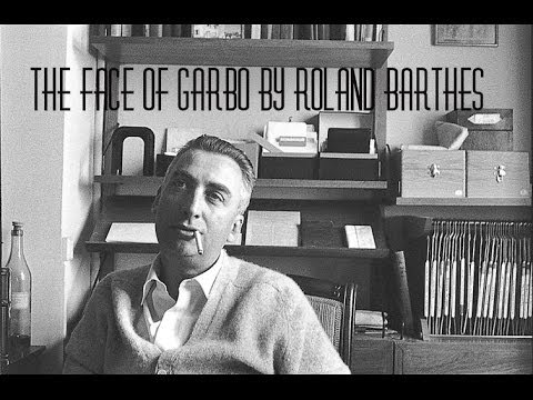 The Face Of Garbo By Roland Barthes (read By A Poetry Channel)
