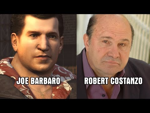 Characters and Voice Actors  Mafia II