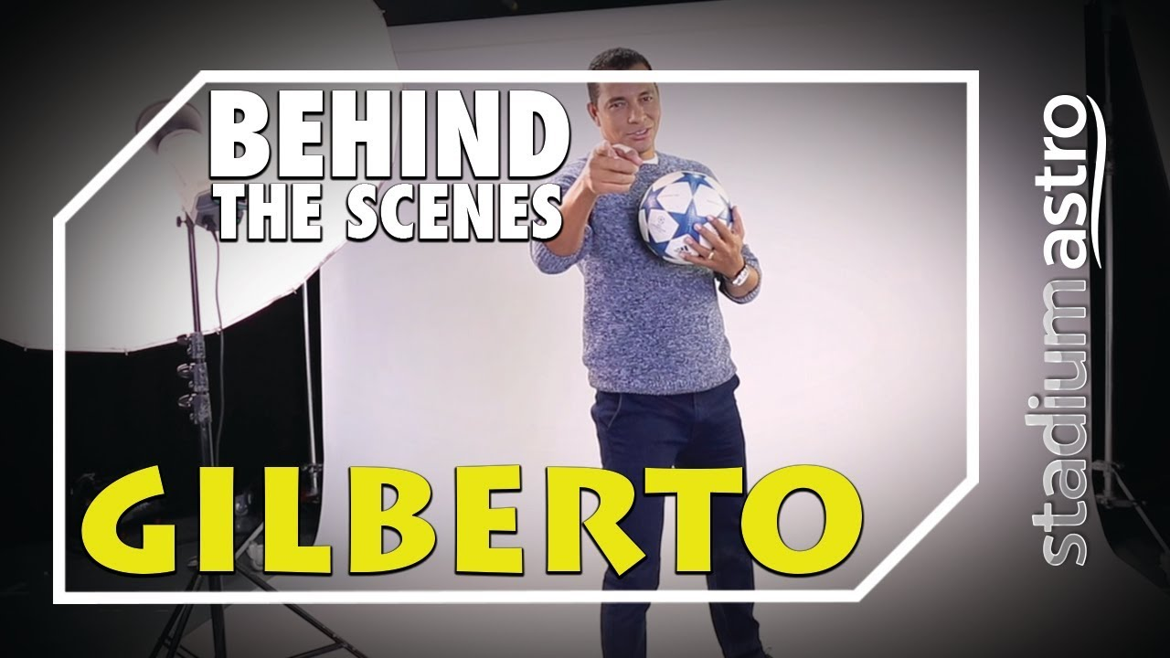 Gilberto Silva - Behind The Scenes | Express | Astro SuperSport - YouTube