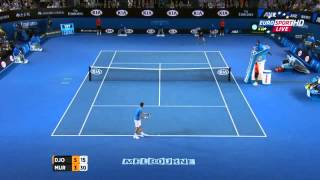 Amazing Points / Novak Djokovic vs Andy Murray / Australian Open-2015 / Final