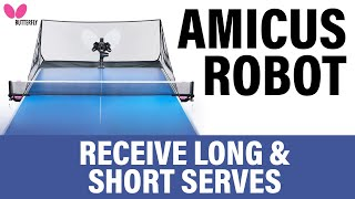How to Receive to Long and Short Serves Richard Prause   AMICUS Training Tips Series