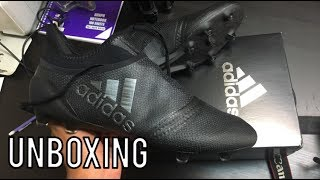Adidas X 17+ PURESPEED (Magnetic Storm Pack) BLACK - Unboxing