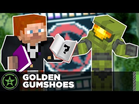 Let's Play Minecraft: Ep. 201 - Golden Gumshoes