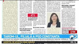 TAROM-ul, filială a PSD Constanța