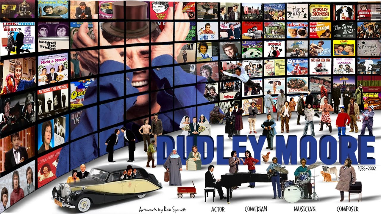 Dudley Moore Tribute Actor Comedian Musician Youtube