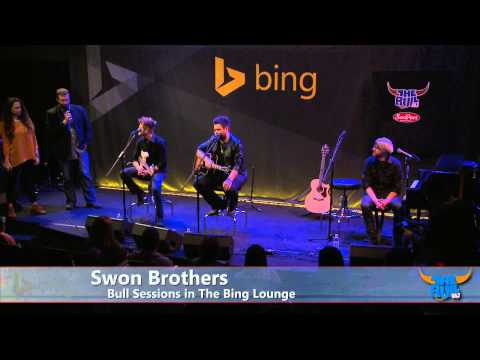 Swon Brothers - Interview (Bing Lounge)