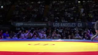 74 KG Jordan Burroughs USA vs Ezzatollah Akbari Zarinkolaei Iran