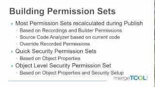 Building Permission Sets