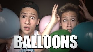 POPPING BALLOONS CHALLENGE !