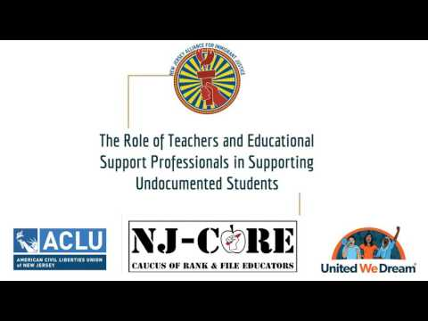 The Role of Teachers and Educational Support Professionals in Supporting Undocumented Students