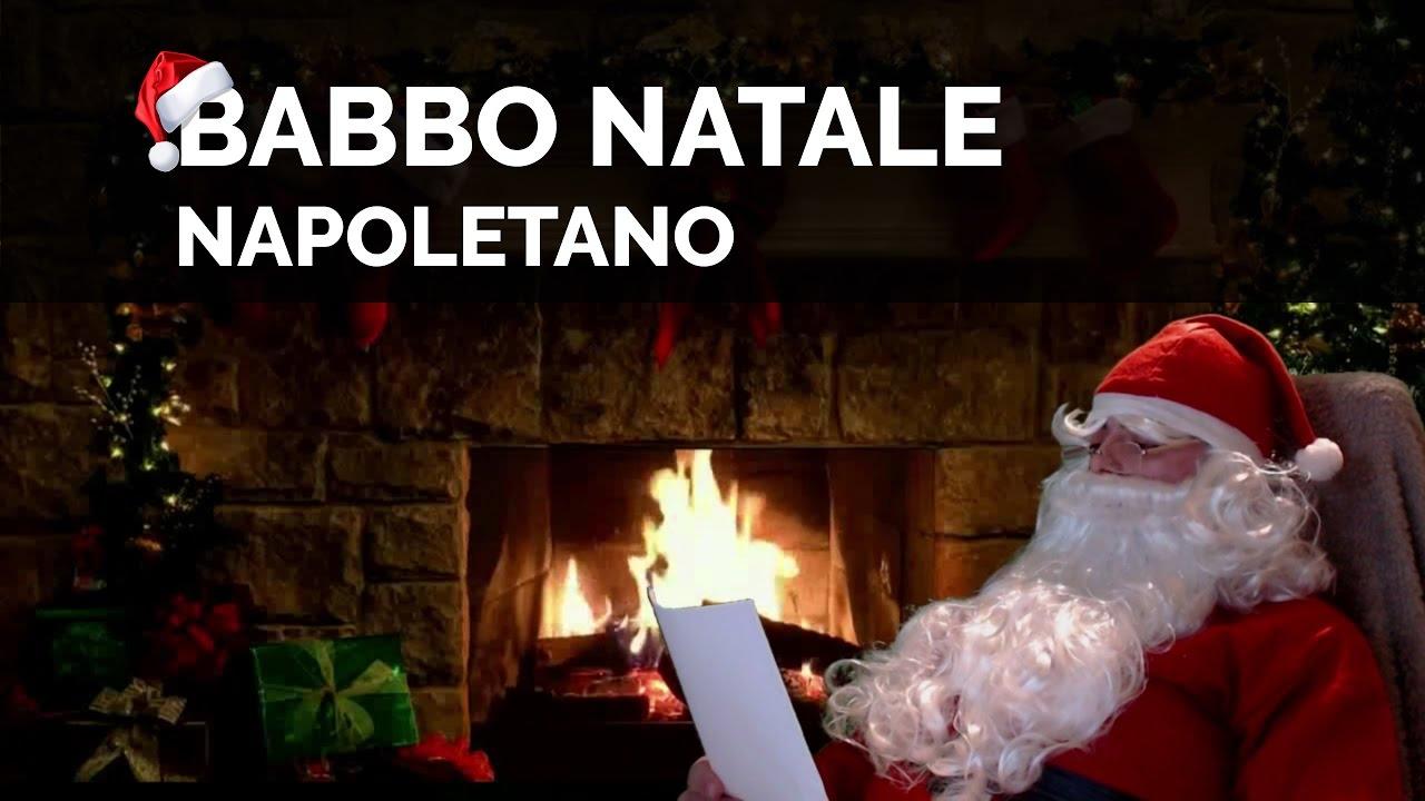 Buon Natale Napoletano.Babbo Natale Napoletano