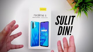 Realme 5 Unboxing and First Impressions - Sulit din eh!