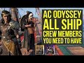 Assassin's Creed Odyssey Ship Customization - SHIP CREW You Need To Have (AC Odyssey Ship Crew)