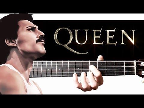 QUEEN - We Will Rock You на Гитаре + РАЗБОР