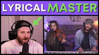 When @Harry Mack Meets Music Duo