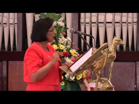 San Fernando Girls Anglican School Graduation Ceremony 26,06,2015 - Trinidad & Tobago