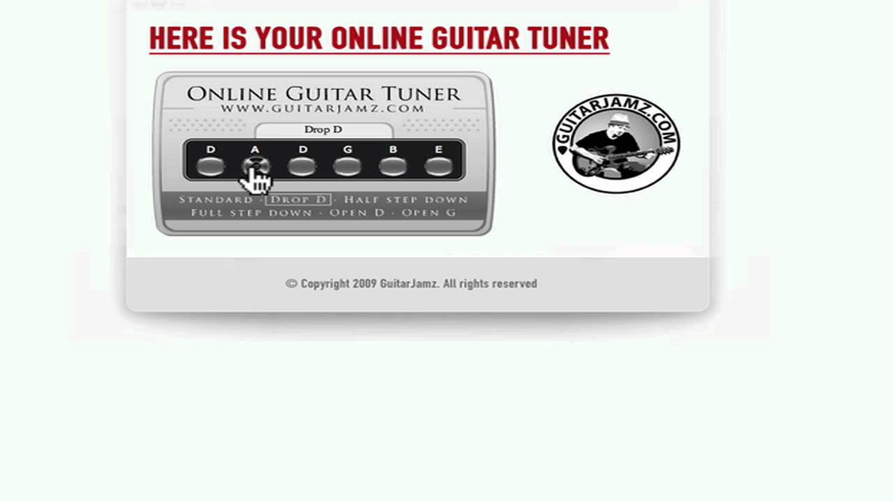 how to tune a guitar alternate tunings drop d tuning for guitar youtube. Black Bedroom Furniture Sets. Home Design Ideas