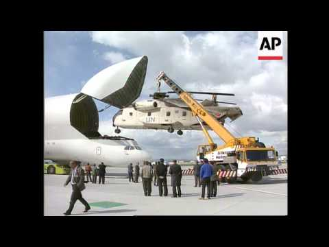 Germany - New Beluga Cargo Plane In Action