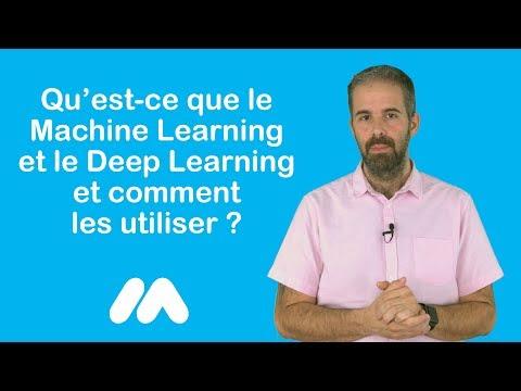 Tuto e-commerce - Le Machine Learning et le Deep Learning - Market Academy par Guillaume Sanchez