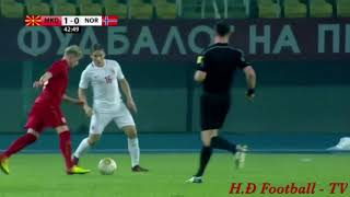 Macedonia vs Norway 2 - 0 All Goals & Extended Highlights 11/11/2017