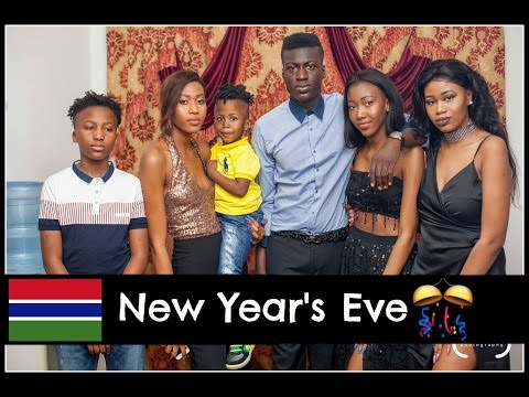 New Year's Eve Party ! - Gambia Vlog 2016/2017 - The Manneh Twinzz