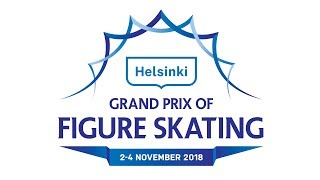 Helsinki Grand Prix 2018 - ICE DANCE – Free Dance - Press Conference