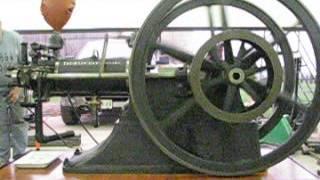 First Unrestored Run - 125 year old 1889 Schleicher Schumm Slide Valve Otto