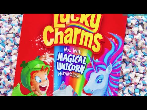 0a16b8a9111 Lucky Charms adds new magical shape to cereal  unicorns - YouTube