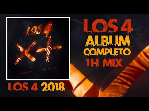 LOS 4 2018 - POR MAS - ALBUM COMPLETO 1H MIX