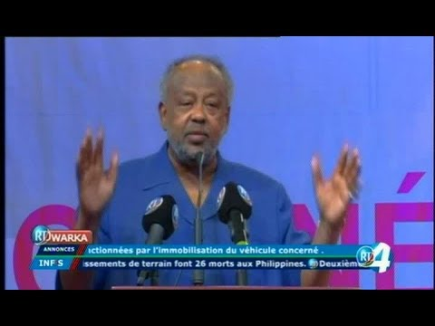 Télé Djibouti Chaine Youtube : JT Somali du 17/12/2017