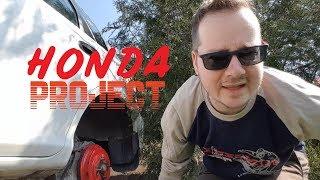 Honda Project: A fékek ellenőrzése és lefestése #racsing #otthonijóskázás