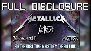 Ex-Megadeth Members on First Big Four Concert at Poland Sonisphere 2010  - Full Disclosure