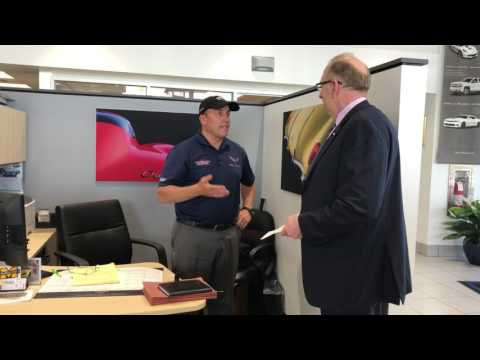 Corvette Seller Mike Furman Receives a visit from General Motors