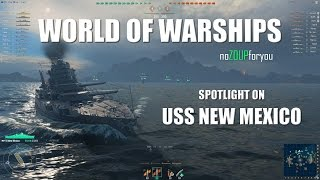 USS New Mexico Review - World of Warships