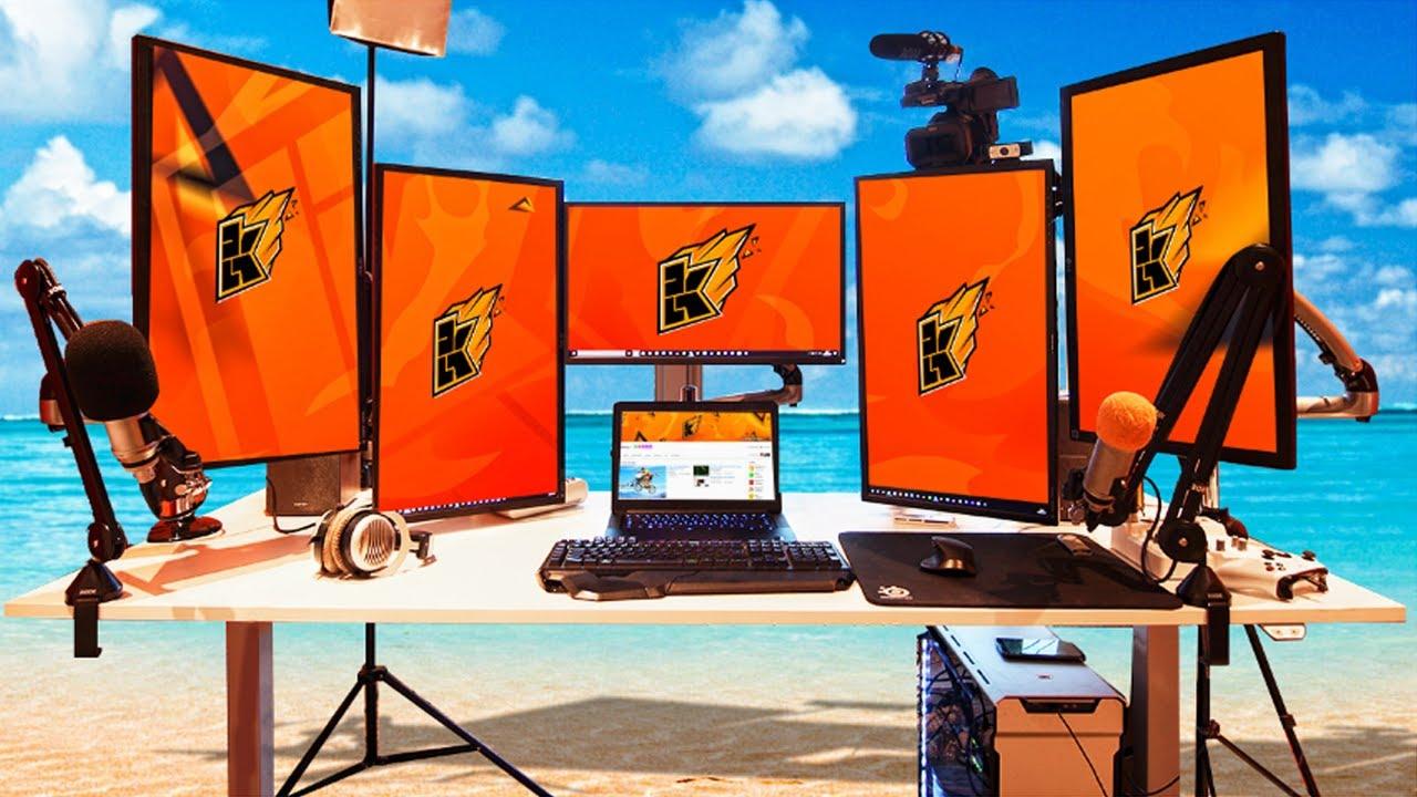 Gaming Setup kwebbelkop gaming setup tour! - youtube